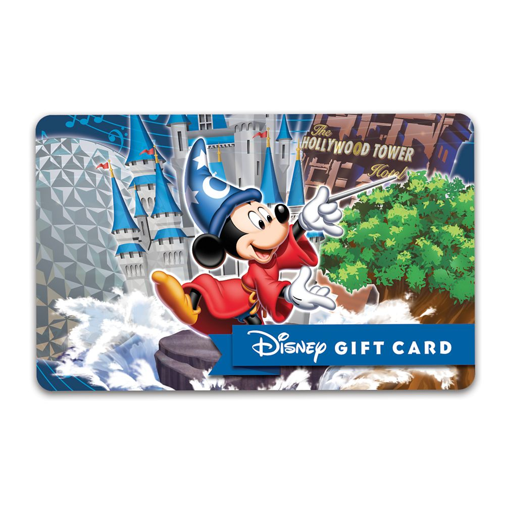 Sorcerer Mickey Mouse Walt Disney World Parks Disney Gift Card