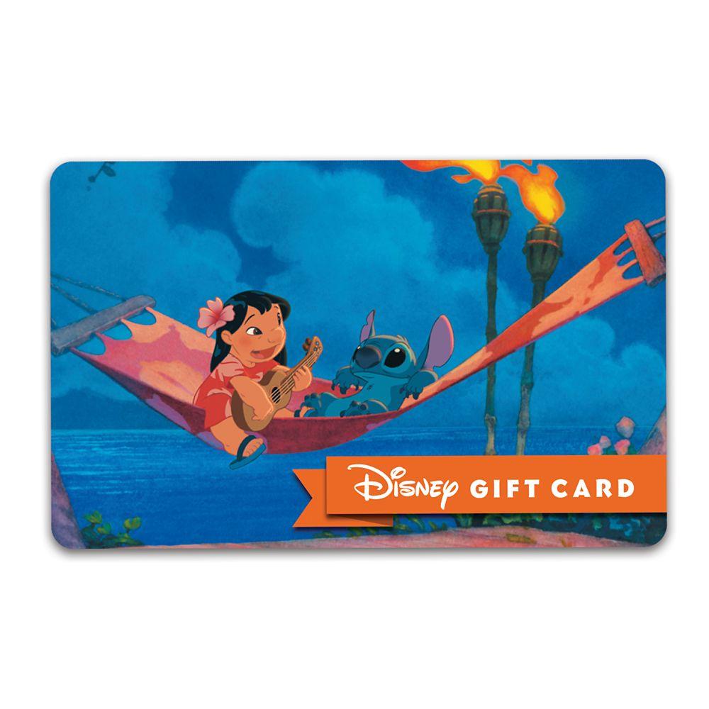 Lilo & Stitch Disney Gift Card
