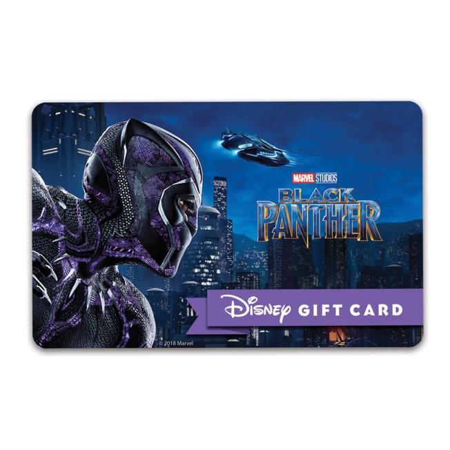 Black Panther Disney Gift Card