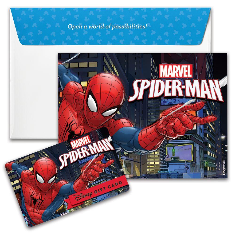 Spider-Man Disney Gift Card