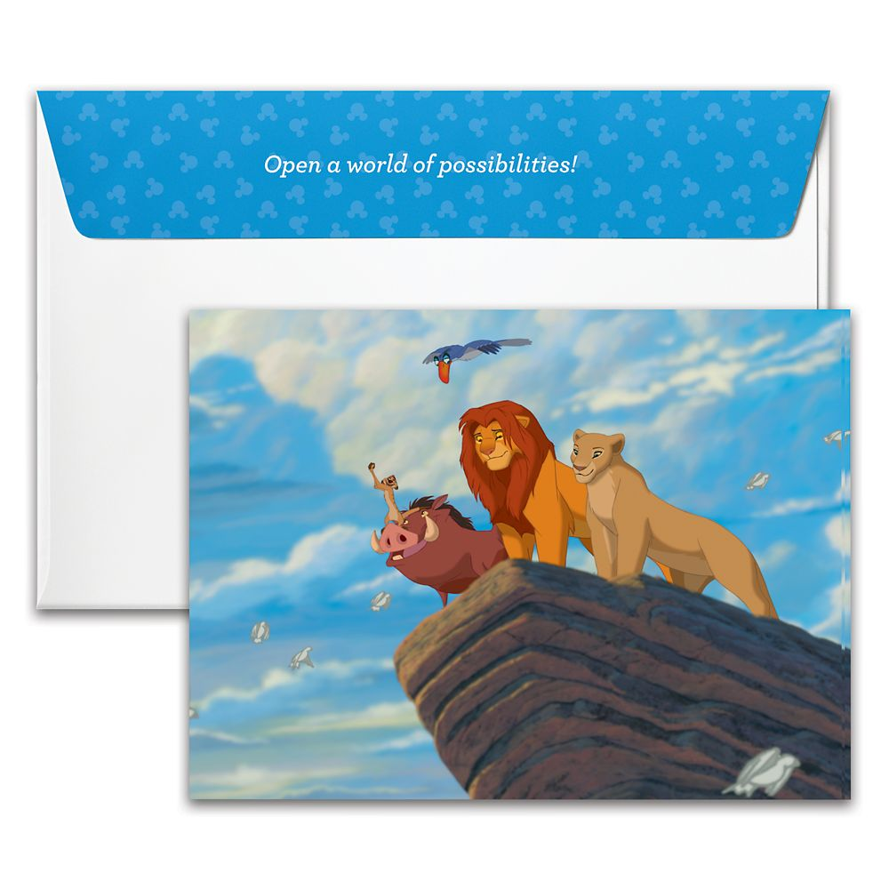 The Lion King Disney Gift Card