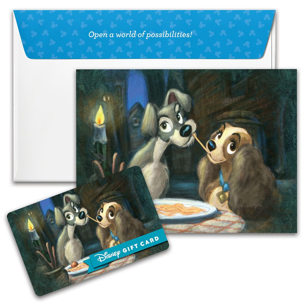 Lady and the Tramp Disney Gift Card