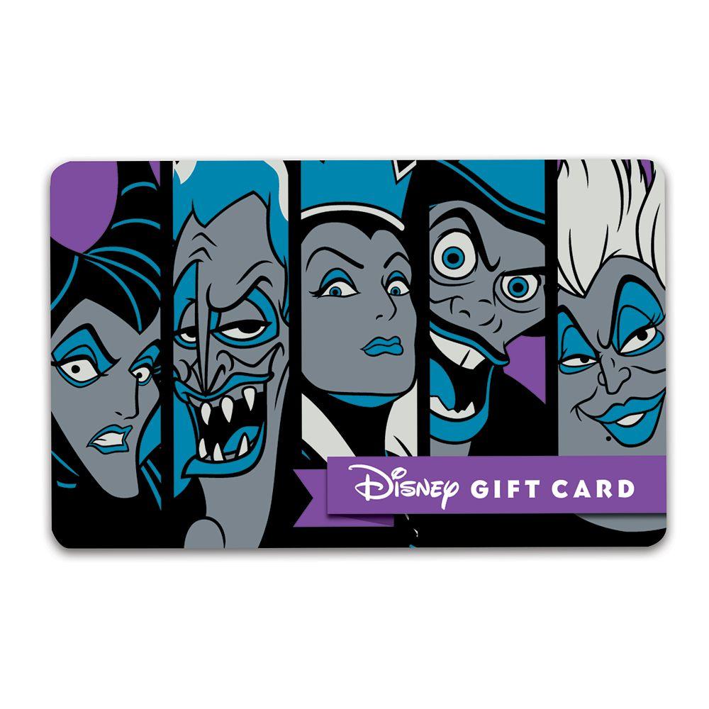 Disney Villains Disney Gift Card