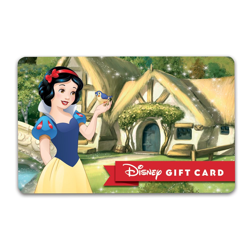 Snow White Disney Gift Card