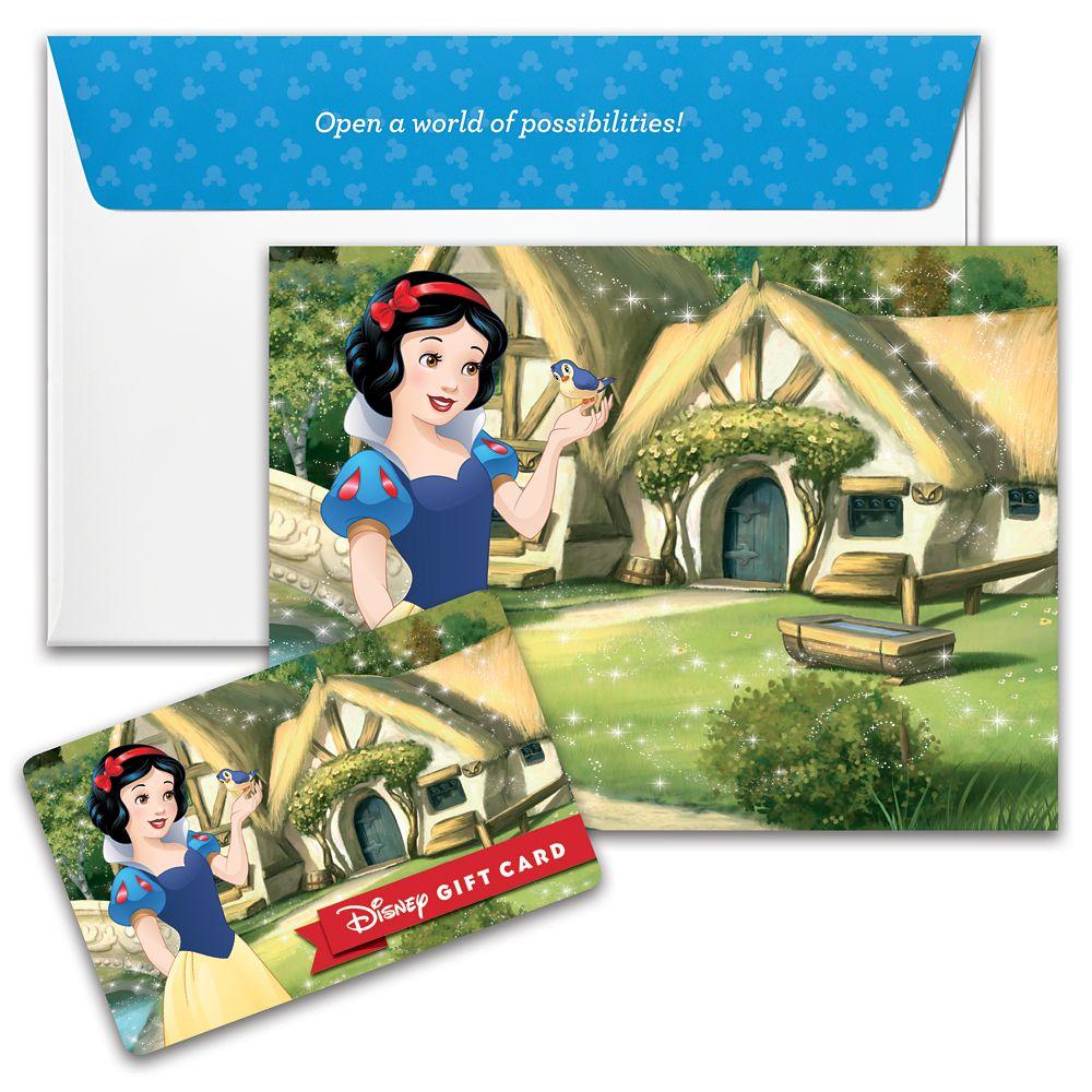 Snow White Disney Gift Card
