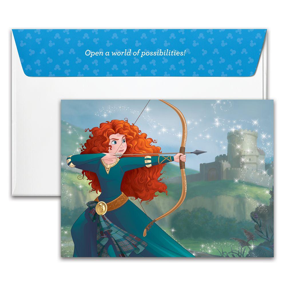 Merida Disney Gift Card