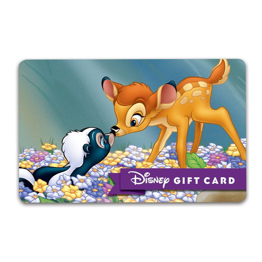 Bambi Disney Gift Card