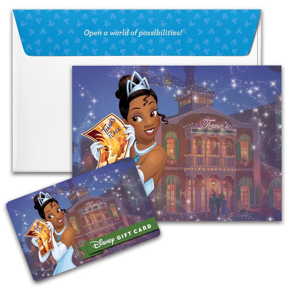 Tiana Disney Gift Card