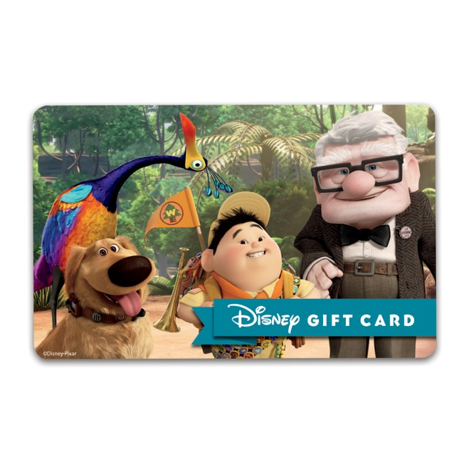 Up Disney Gift Card