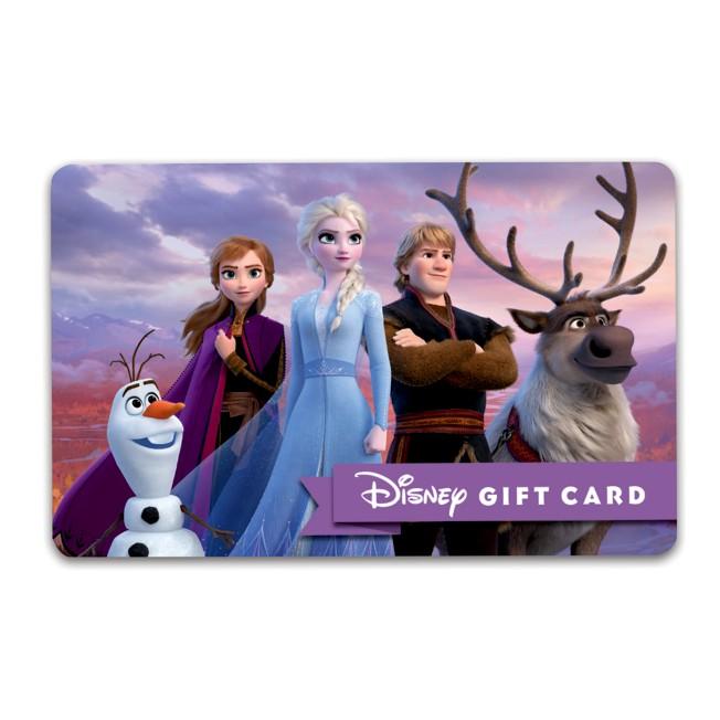Frozen 2 Disney Gift Card