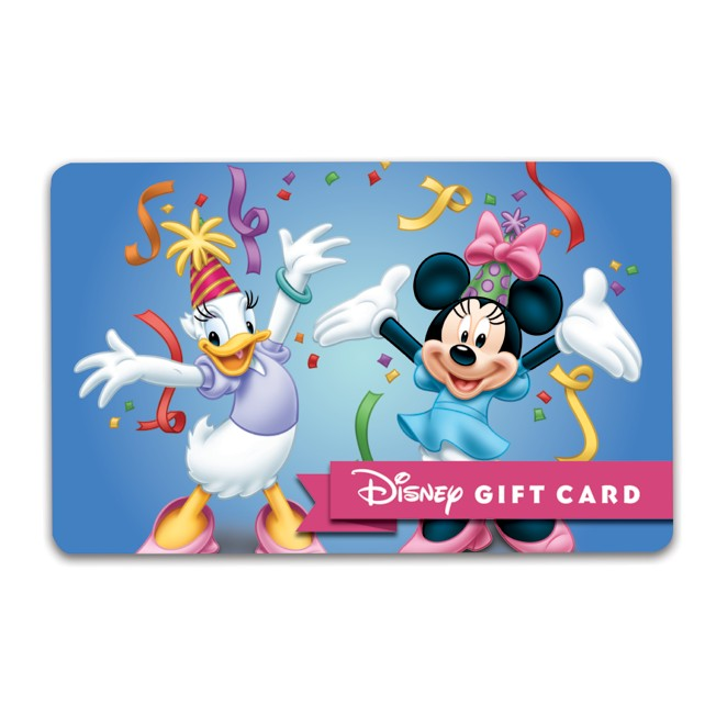 Minnie Mouse and Daisy Duck Congratulations Disney Gift Card
