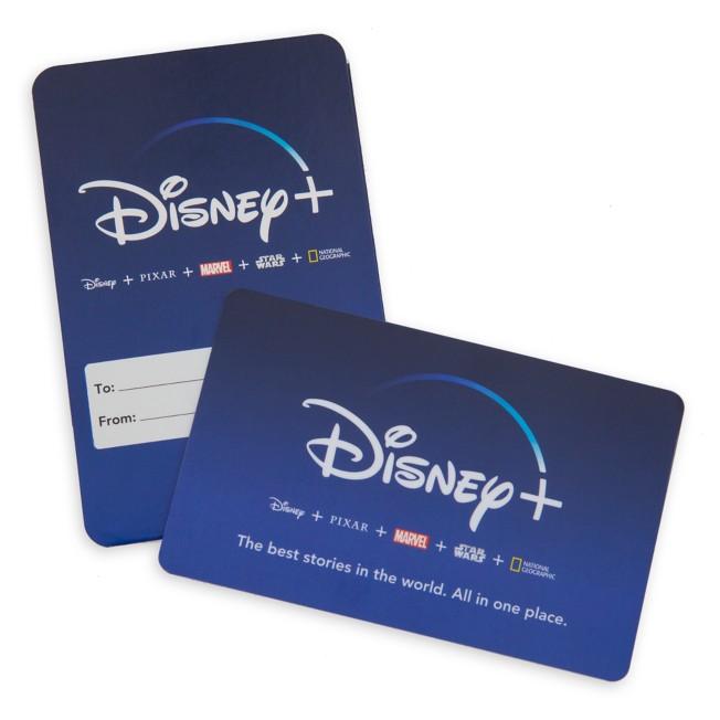 Disney+ 1 Year US Subscription Card