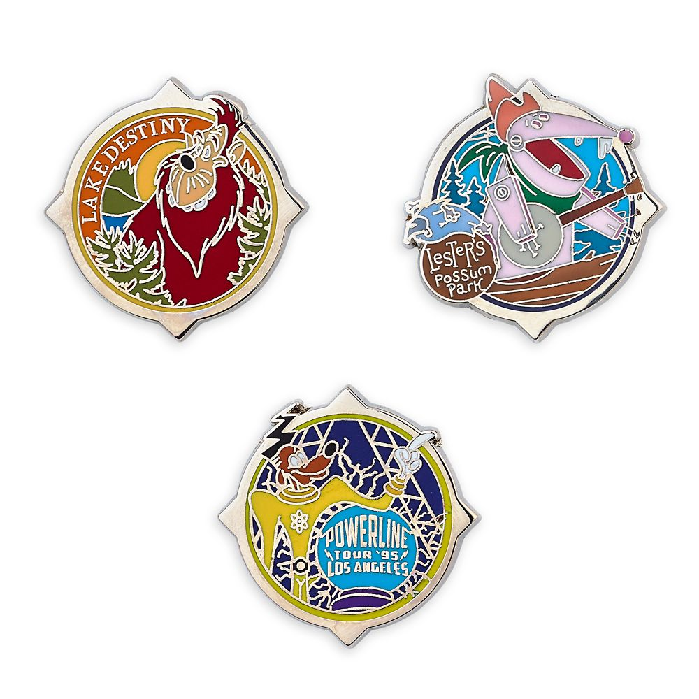 D23 A Goofy Movie 25th Anniversary Pin Set – Limited Edition