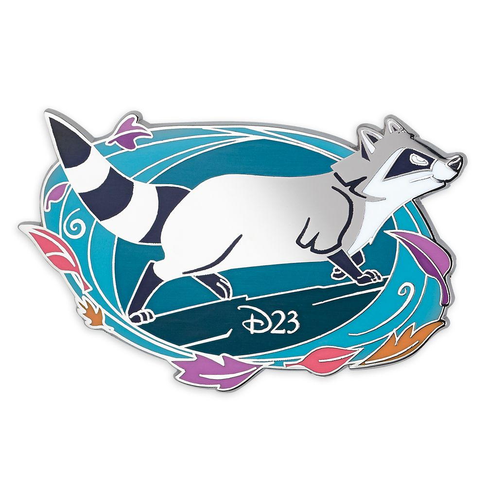 D23 Pocahontas 25th Anniversary Meeko Pin – Limited Edition