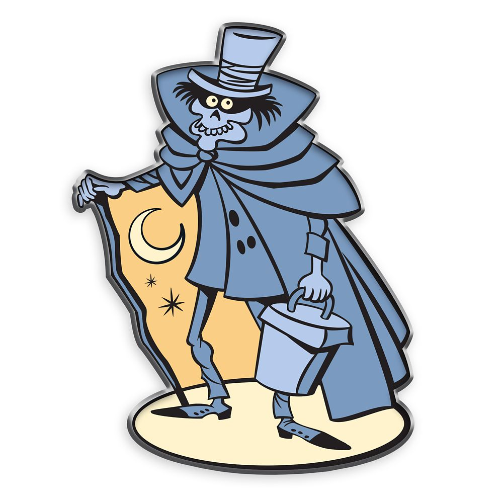 D23 The Haunted Mansion Hatbox Ghost Pin – Limited Edition
