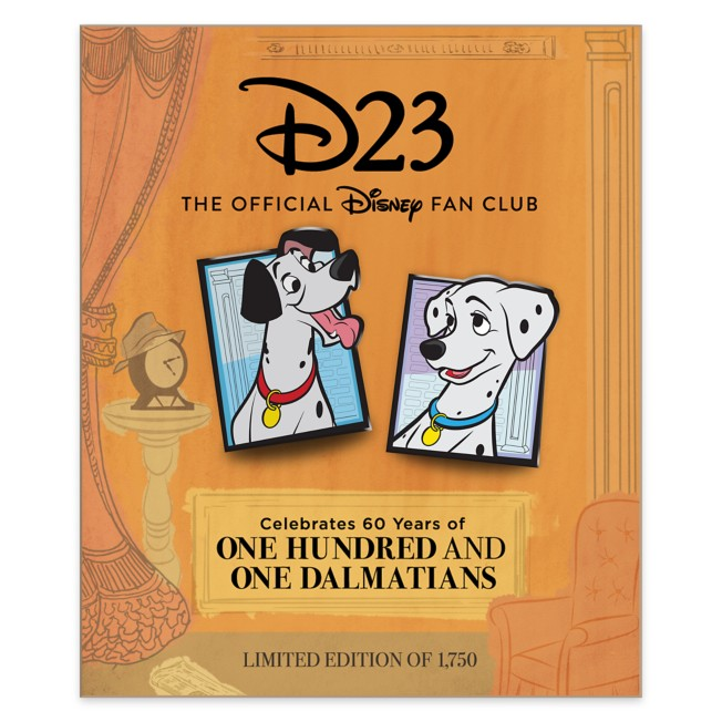 D23-Exclusive One Hundred and One Dalmatians Pin Set – Limited Edition