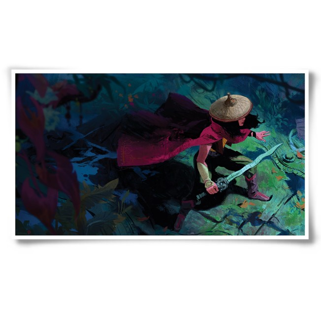 D23 Exclusive Raya and the Last Dragon Lithograph – Limited Edition