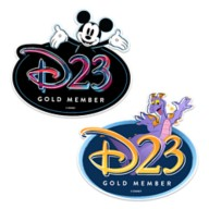D23 Exclusive Mickey Mouse and Figment Magnet Set
