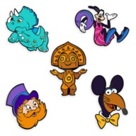 D23-Exclusive Walt Disney World 50th Anniversary Pin Set –  ''The Vacation Kingdom of the World'' – Limited Edition