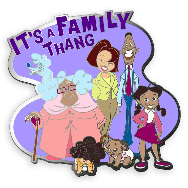 D23-Exclusive The Proud Family 20th Anniversary Pin – Limited Edition