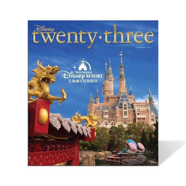 Disney twenty-three 2016 Summer Issue