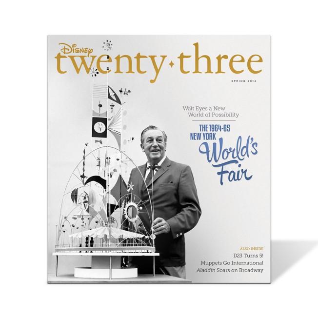 Disney twenty-three 2014 Spring Issue