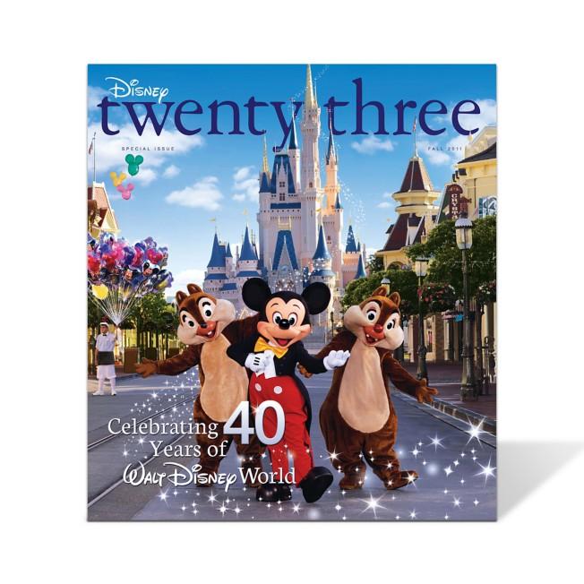 Disney twenty-three 2011 Fall Issue