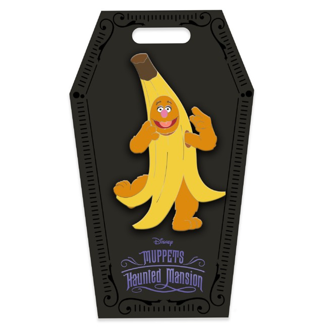 D23 Gold Member Fozzie Bear Banana Halloween Costume Pin – Muppets Haunted Mansion – Limited Edition