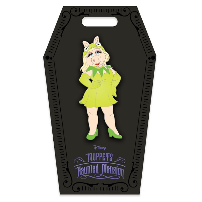 D23 Gold Member Miss Piggy Halloween Costume Pin – Muppets Haunted Mansion – Limited Edition
