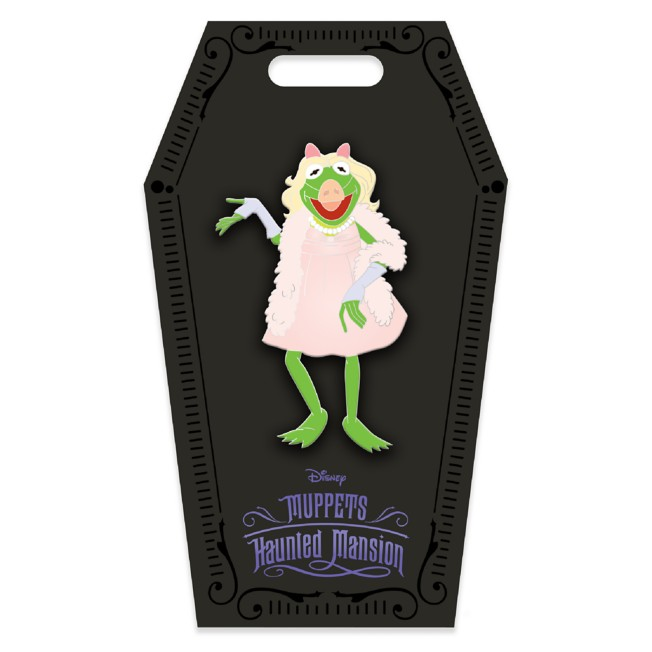 D23 Gold Member Kermit Halloween Costume Pin – Muppets Haunted Mansion – Limited Edition