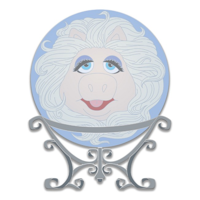 D23 Gold Member Miss Piggy as Madame Pigota Pin – Muppets Haunted Mansion – Limited Edition