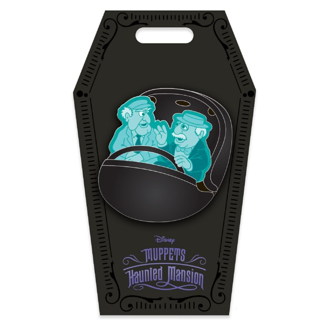 D23 Gold Member Statler and Waldorf Doom Buggy  Pin – Muppets Haunted Mansion – Limited Edition