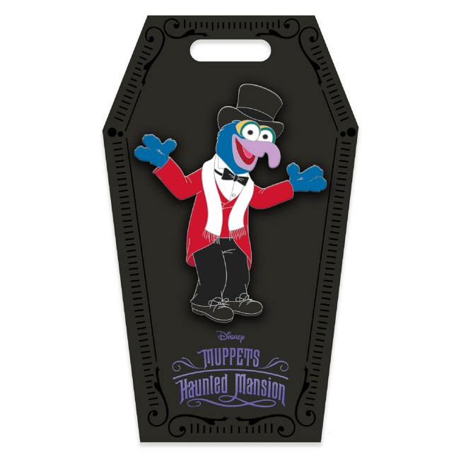 D23 Gold Member Tuxedo Gonzo Pin – Muppets Haunted Mansion – Limited Edition