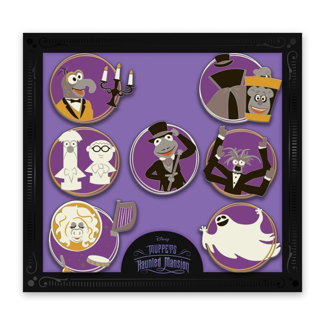 D23 Gold Member Muppets Haunted Mansion Pin Set – Limited Edition