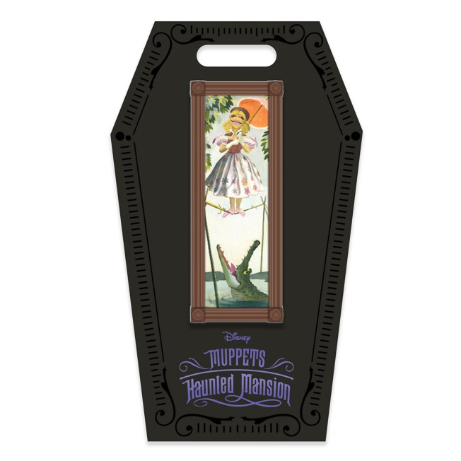 D23 Gold Member Janice Stretching Room Portrait Pin – Muppets Haunted Mansion – Limited Edition