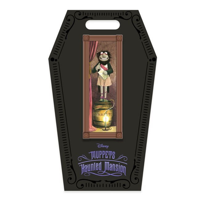 D23 Gold Member Harry Stretching Room Portrait Pin – Muppets Haunted Mansion – Limited Edition