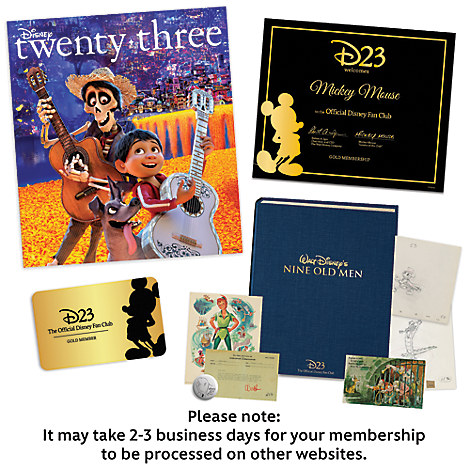 D23 Gold Family Gift Membership