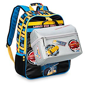 Cars 3 Backpack and Lunch Tote Duo