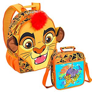 The Lion Guard Backpack and Lunch Tote Collection