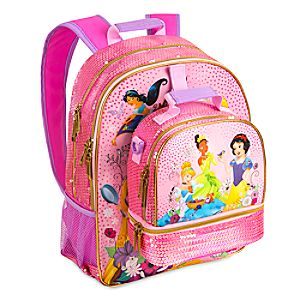 Disney Princess Backpack and Lunch Tote Collection