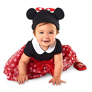 Minnie Mouse Red Costume Bodysuit Collection for Baby