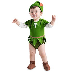 Peter Pan Cuddly Costume Bodysuit Collection for Baby