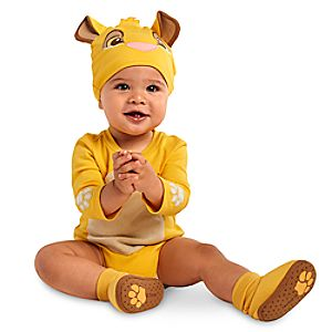 Simba Cuddly Costume Bodysuit Collection for Baby
