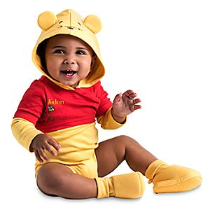 Winnie the Pooh Cuddly Costume Bodysuit Collection for Baby