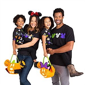 Mickey and Minnie Mouse Halloween Family Tee Collection