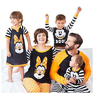 Mickey and Minnie Mouse Halloween Sleepwear Collection
