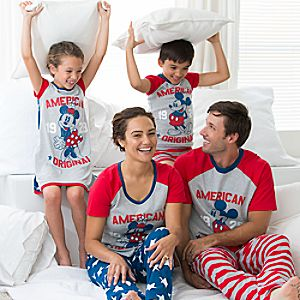 Mickey Mouse Americana Family Sleepwear Collection