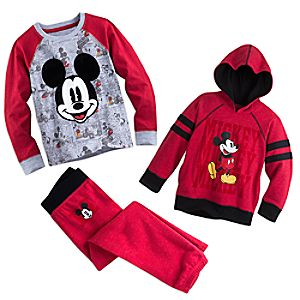 Mickey Mouse Warm Playclothes Collection