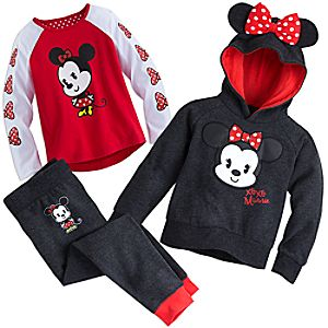 Minnie Mouse Warm Playclothes Collection
