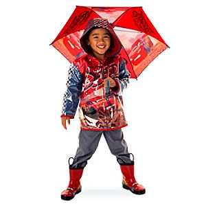 Lightning McQueen Rainwear Collection for Kids